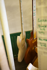 Gordon–Smith handcrafted guitars 'drying'